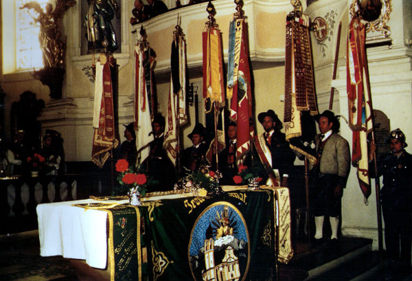 Messe beim 5-jährigen Gründungsfest
